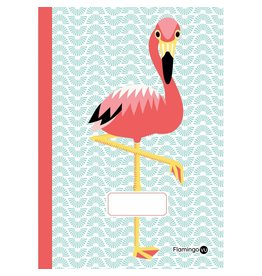 Coq en Pate Flamingo Notebook