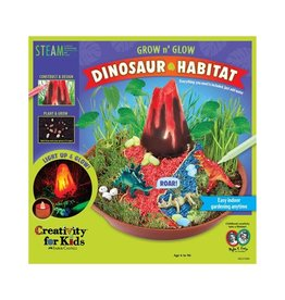 Creativity For Kids Grow n' Glow Dinosaur Habitat