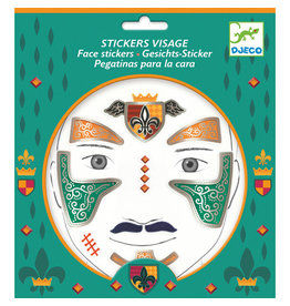 Djeco Face Stickers, Knight