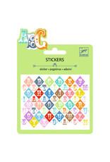 Djeco Mini Stickers, Saloon Letters