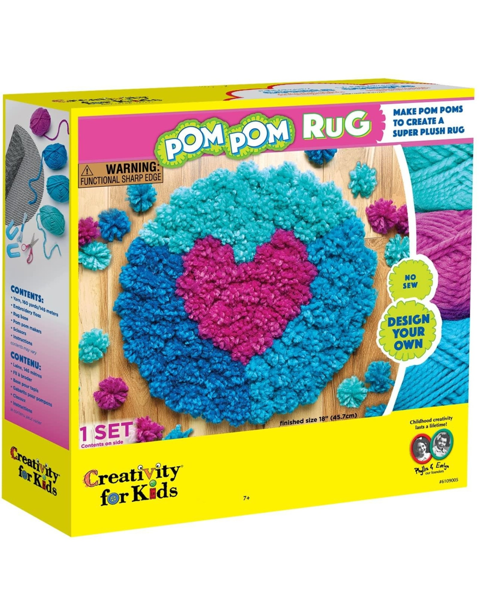 Creativity For Kids Pom Pom Rug