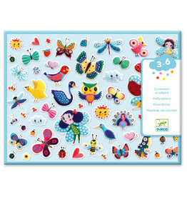 Djeco Puffy Stickers, Little Wings