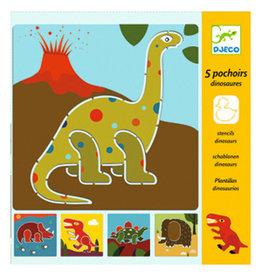 Djeco Stencils, Dinosaurs