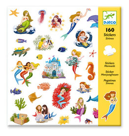 Djeco Stickers, Mermaids