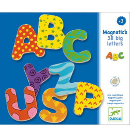 Djeco Magnetic's 38 Big Letters