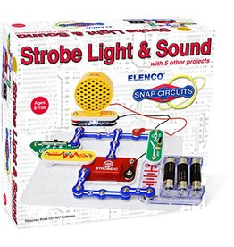 Elenco Snap Circuits, Strobe Light & Sound