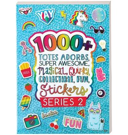 Fashion Angels 1000+ Totes Adorbs Super Awesome Stickers, Series 2
