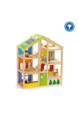 Hape All Season Doll House (Furnished)