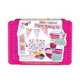 Fashion Angels Glitter Rainbow Paper Making Kit