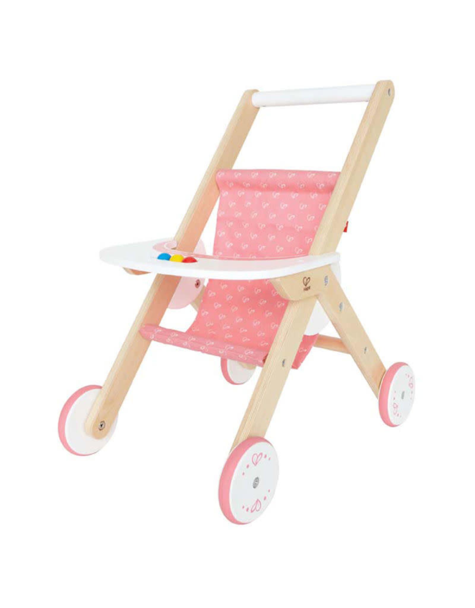 Hape Wooden Doll Stroller
