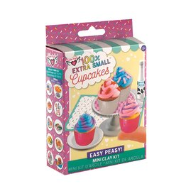 Fashion Angels 100% Extra Small Mini Clay Kit, Cupcakes