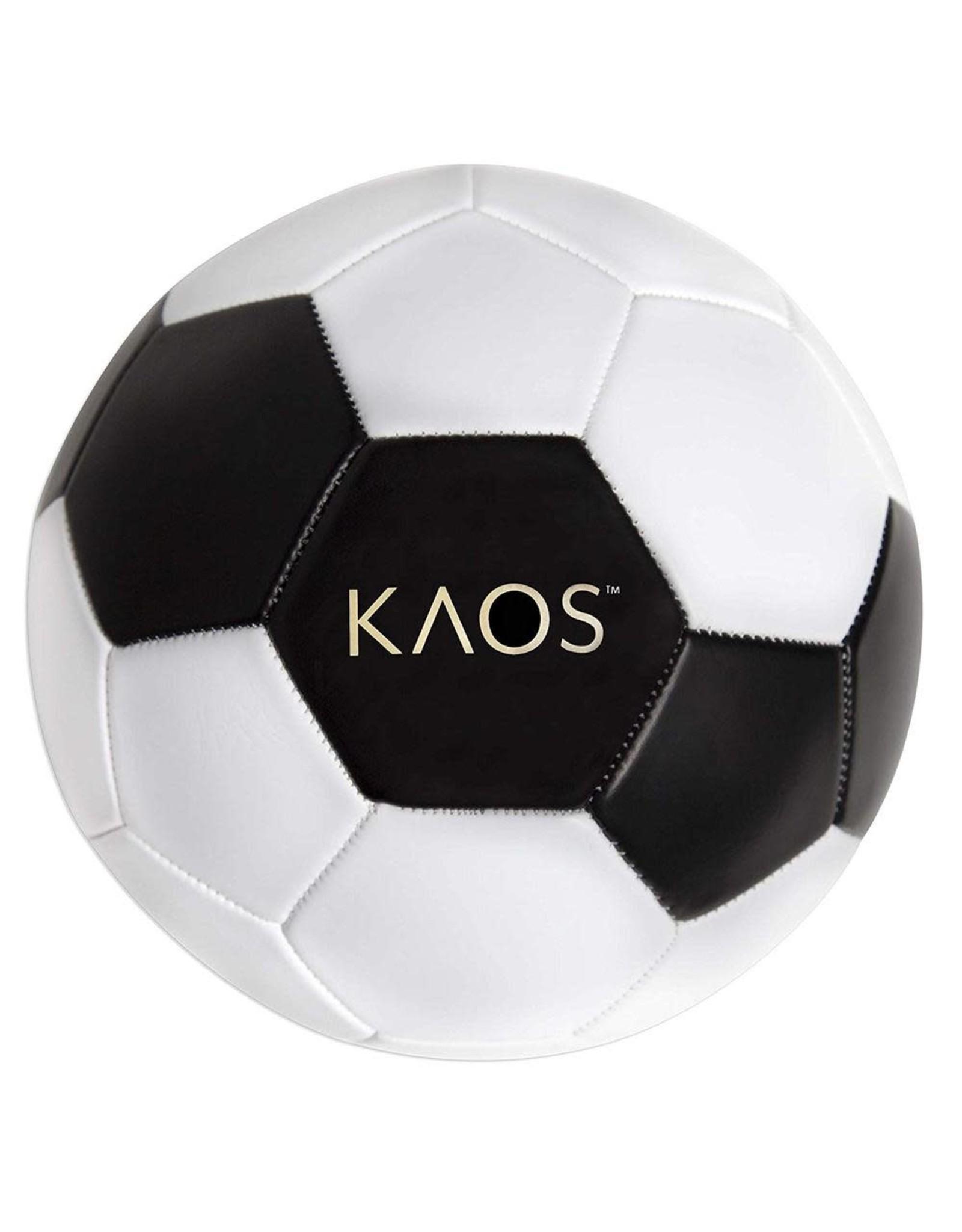 inQbrands, Inc Soccer Ball, Boom, White Black,