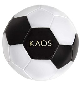 inQbrands, Inc Soccer Ball, Boom, White Black,