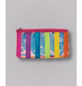 Iscream Pencil Case, Iridescent Stripe