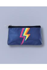 Iscream Pencil Case, Metallic Lightning