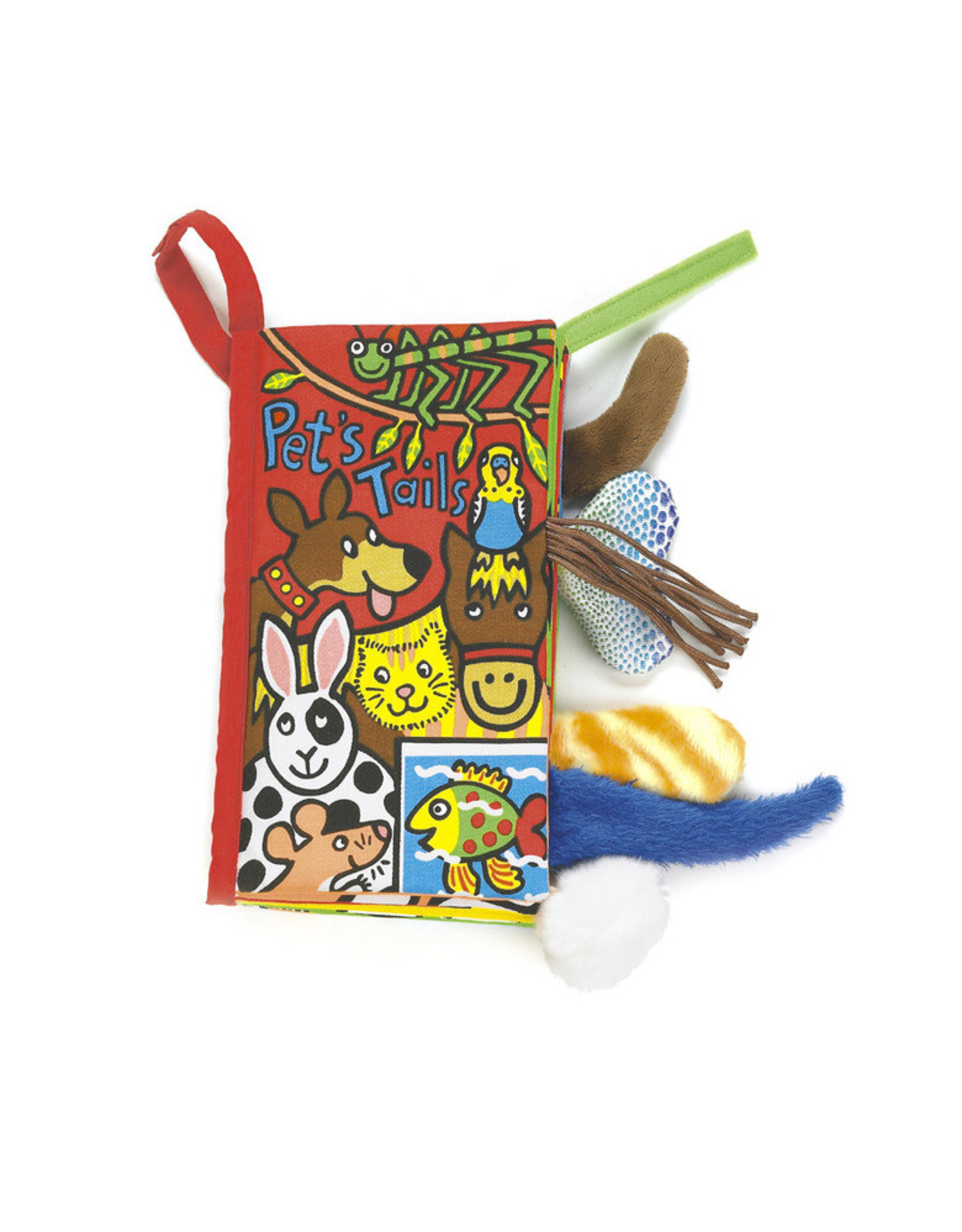 Jelly Cat Pet Tails Soft Book