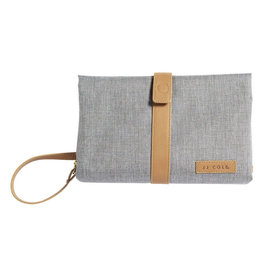 JJ Cole Changing Clutch, Gray Heather