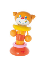 Haba Clutching Toy, Clatter Cat