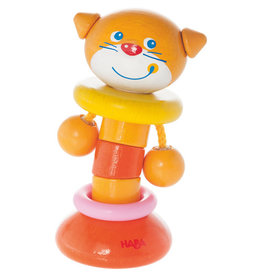 Haba Clutching Toy Clatter Cat