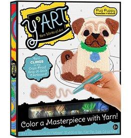 Kahootz Y'ART Pug Puppy