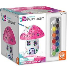 MindWare Paint Your Own Porcelain Fairy Light