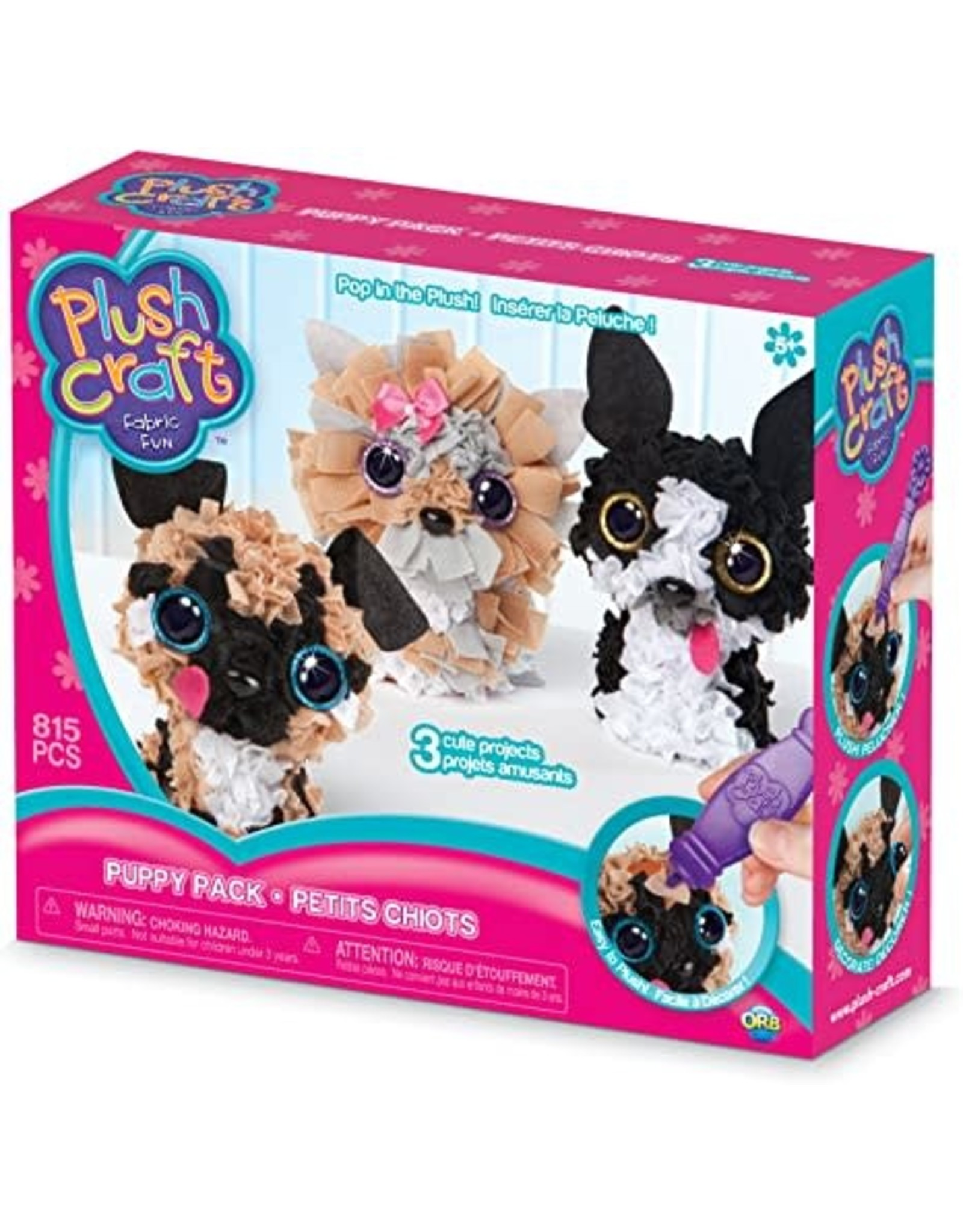 Orb Factory Plushcraft, Puppy Pack