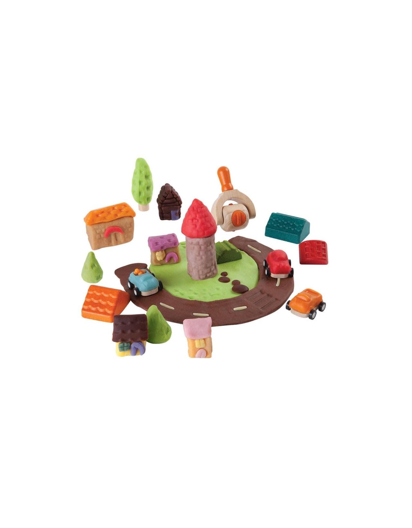Plan Toys Build-A-Town Dough Set