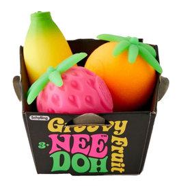 Schylling Groovy Squish Fruit Nee Doh