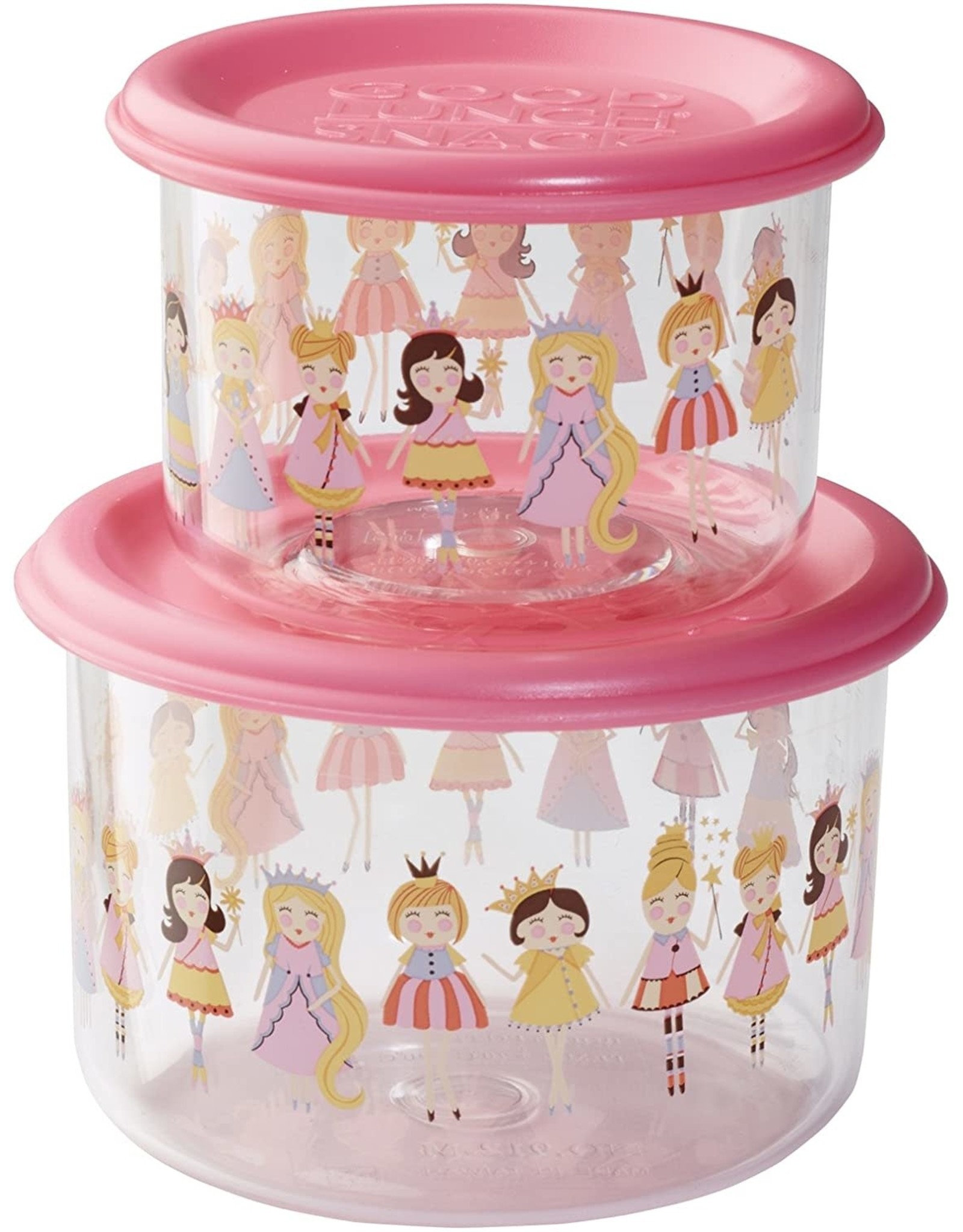 Sugarbooger Good Lunch Snack Containers Small, Princess