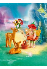 Playmobil Fairy Girl with Fawns
