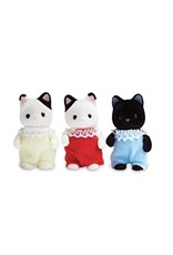 Calico Critters Calico Critters Tuxedo Cat Triplets