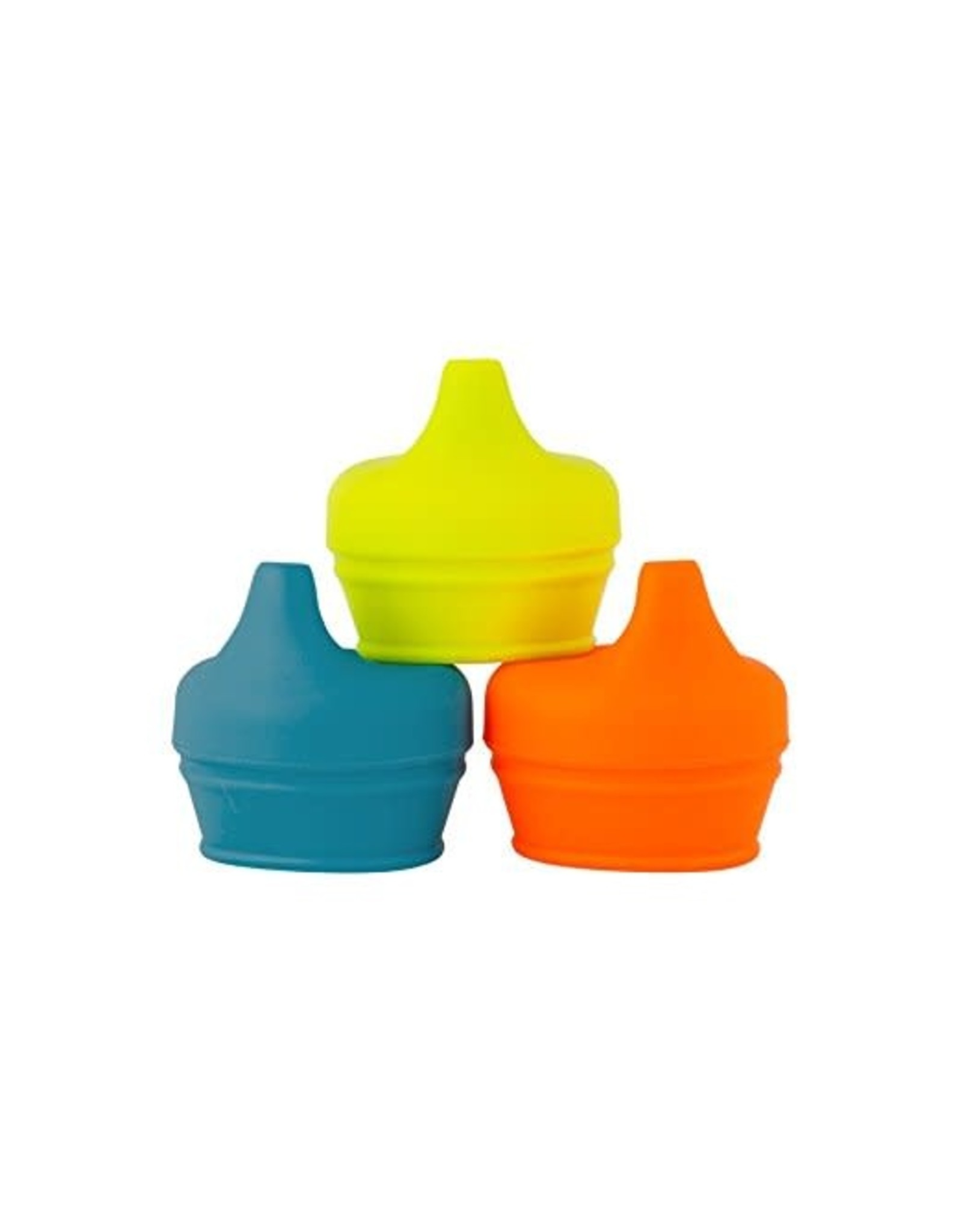 Boon Snug Spout 3pk Lids, Boy