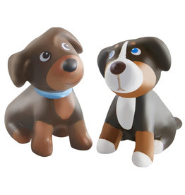 Haba Little Friends, Brown & Tricolor Puppy