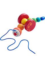 Haba Caterpillar Mina Pull Toy