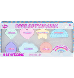Three Cheers for Girls Days of the Week Bath Fizzies