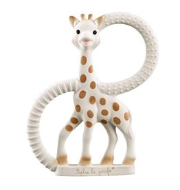 Sophie La Girafe Sophie the Giraffe So'Pure Teething Ring (Soft Version)