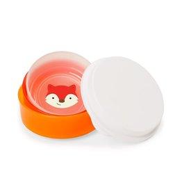Skip Hop Zoo Non-Slip Bowl Set 3pk, Fox