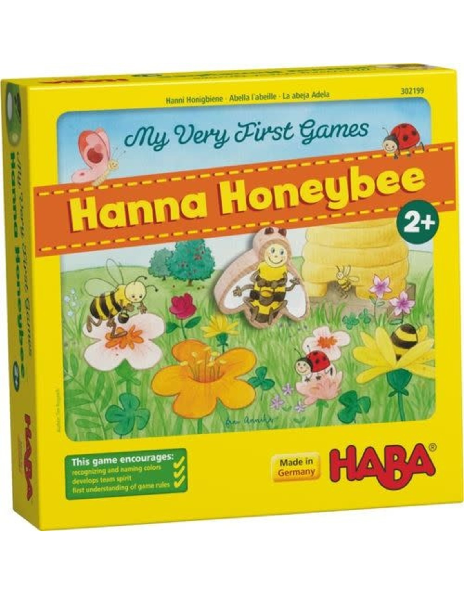 Haba My Very First Games , Hanna Honeybee