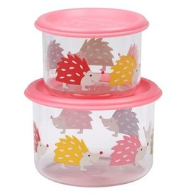 Sugarbooger Good Lunch Snack Containers Small, Hedgehog