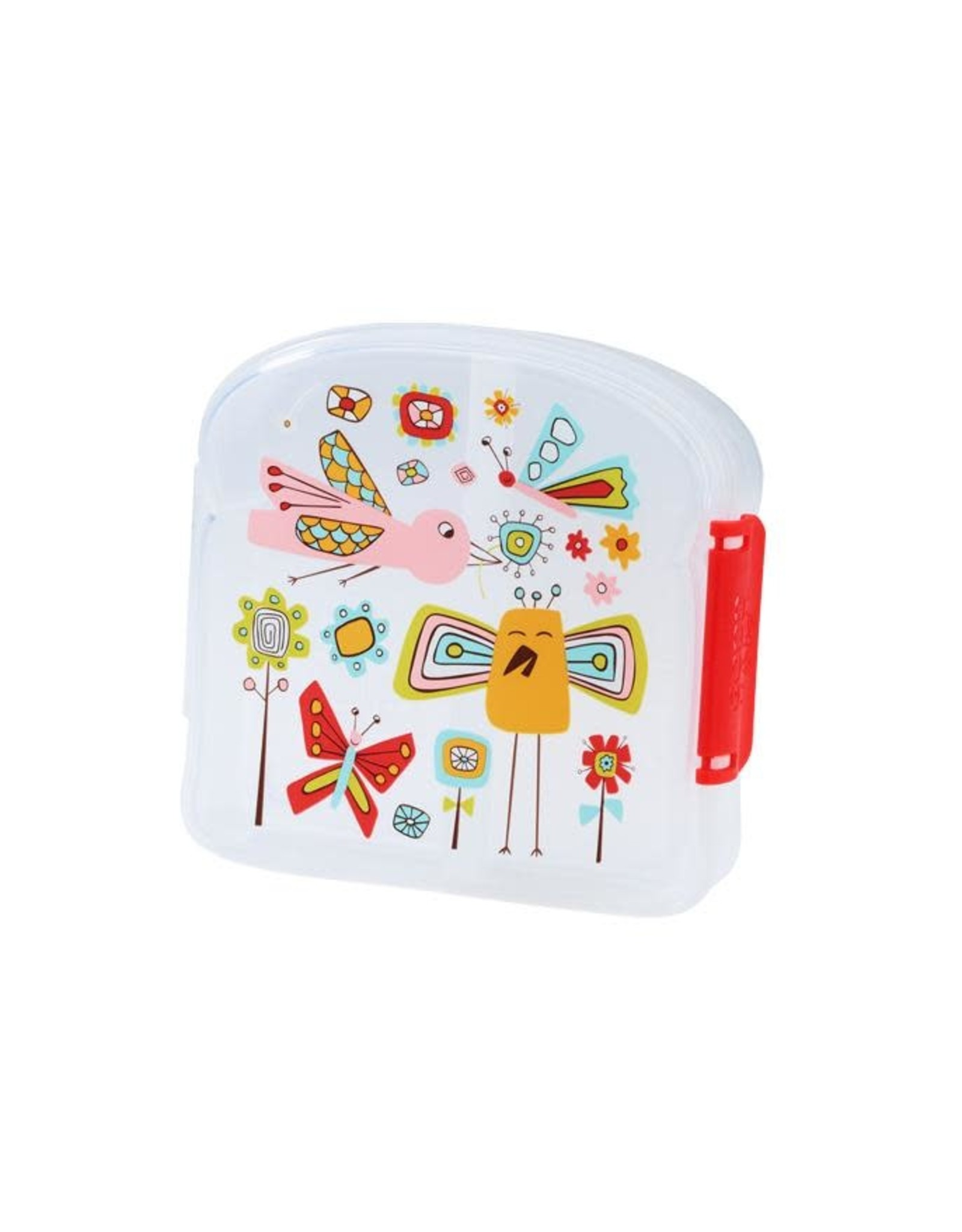 Sugarbooger Good Lunch Sandwich Box, Birds & Butterflies