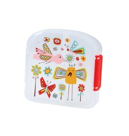 Sugarbooger Good Lunch Sandwich Box, Birds & Butterflies