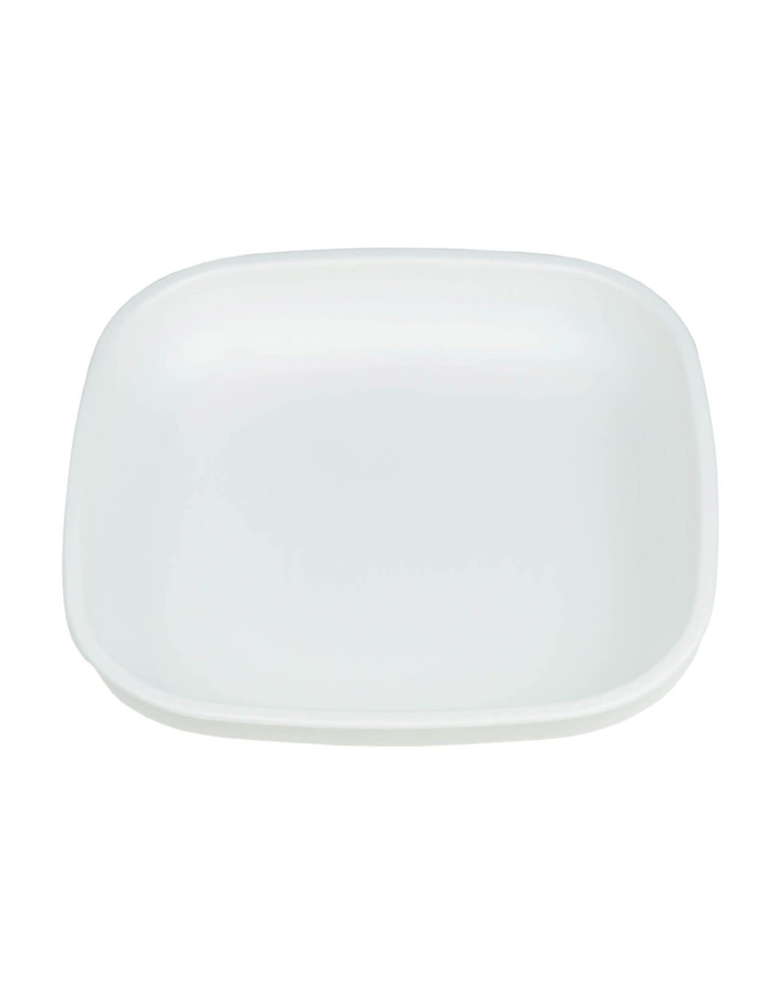 Re-Play Re-Play Undivided Plate, White, One Size