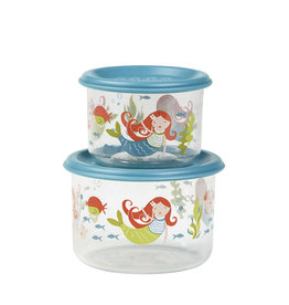 Sugarbooger Good Lunch Snack Containers Small, Isla the Mermaid