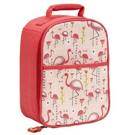 Sugarbooger Zippee Lunch Tote, Flamingo