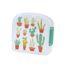 Sugarbooger Good Lunch Sandwich Box, Happy Cactus