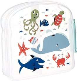 Sugarbooger Good Lunch Sandwich Box, Ocean
