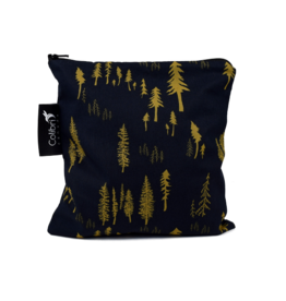 Colibri Reusable Snack Bag Large, Forest