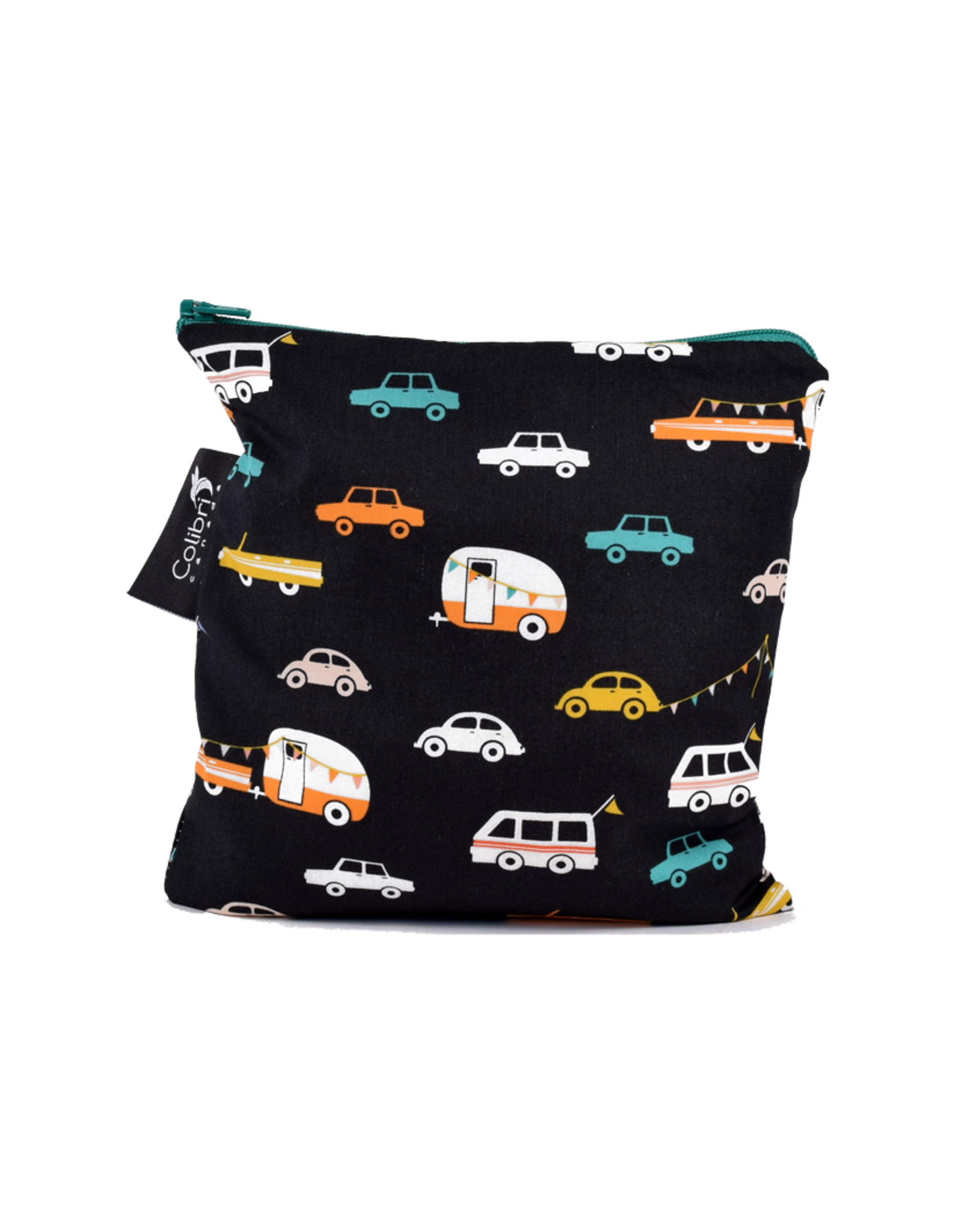 Reusable Snack Bag Large Road Trip Angellina S Toy Boutique