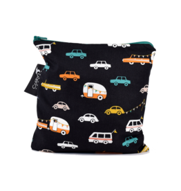 Colibri Reusable Snack Bag Large, Road Trip