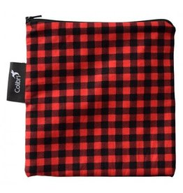 Colibri Reusable Snack Bag Large, Plaid